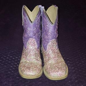 Roper Lavender western boots